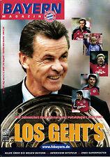 BL 2000/01 Bayern München - Hertha BSC, 12.08.2000 - 2 Mannschaftsposter
