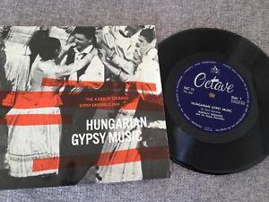 "7"" THE KAROLYI SZENASSI GYPSY ENSEMBLE HUNGARIAN GYPSY MUSIC 1962."