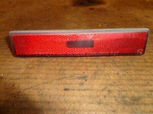 Toyota Supra MK3 1986.5-92 Passenger Rear Parking Light RED
