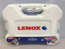 LENOX Contractor's Hole Saw 9 pc Set Bi-Metal Kit USA 30807-700G