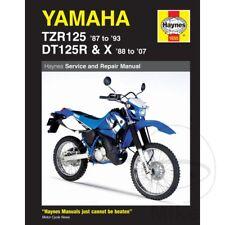 Yamaha DT 125 X 2005 Haynes Manual de reparación de servicio 1655