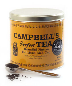 Campbell's Perfect Tea 500g EAST AFRICAN TEAS (200+cups)- Sold by DSDelta Ltd