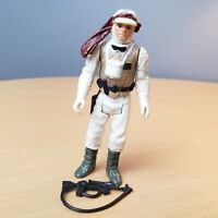Vintage 1980 Star Wars Luke Skywalker Hoth Battle Gear Action Figure w/ Weapon
