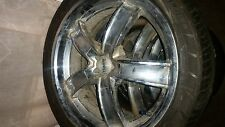 235/45/18 wheels chrome holden mags 2 good tyres and two just worn on the inside