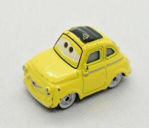 Disney Pixar Cars yellow Luigi Fiat 500 Cinquecento 1:55 scale diecast car