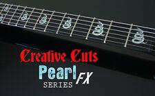 Snake James Hetfield EXPLORER MOP Fretboard Markers Vinyl Inlays for ANY GUITAR