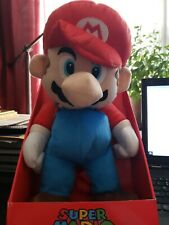 "Super Mario Mario 18"" Soft Plush Doll Backpack. Authentic Brand New."