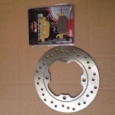 Honda fes125 fes150 Panteón s-wing Freno Trasero Disco & Pad Kit 2007 - 2012