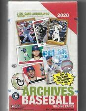 2020 TOPPS архивов бейсбол хобби коробка