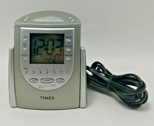 Timex Nature Sounds AM/FM Radio Alarm Clock Model T309-T - Tested, Works Great!