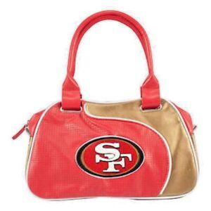 San Francisco 49ers NFL Perfect Bowler Purse Womens Handbag