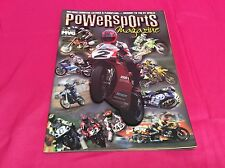 POWERSPORTS  MOTORCYCLE MAGAZINE AUGUST 1999  (Y294)