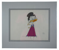 1987 Uncle Scrooge McDuck Sport Goofy Ducktales Production Animation Cel COA