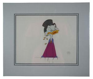 1987 Uncle Scrooge McDuck Sport Goofy Ducktales Production Animation Cel COA