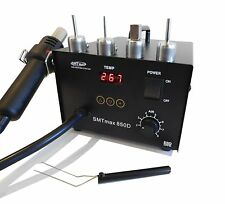 SMTmax 850D Hot Air Rework Station w/ 4 nozzles included