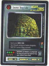 Star Trek CCG Locutus' Borg Cube Blaze of Glory UR Foil