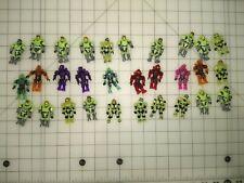 Mega Bloks Construx lot of 30 Zombie Spartan and Power Pack Figure lot
