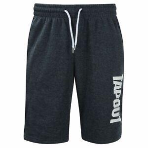 TapouT Mens LARGE or XXL Fleece Shorts NEW NAVY BLUE  UFC Adjustable L 2XL Waist