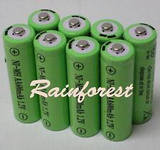 8 pcs AA Rechargeable Batteries Ni-MH 600mAh 1.2v for Garden Solar light