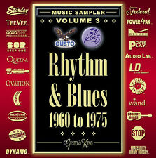 PRICE DROP! [BRAND NEW] CD: RHYTHM & BLUES 1960 TO 1975: VARIOUS ARTISTS