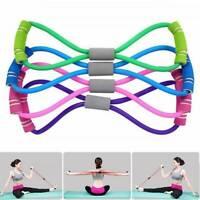 Flexible Fitness Equipment Elastic Resistance Bands Tube Exercise Band For Yoga/
