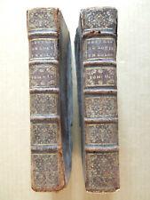 DE LOCIS THEOLOGICIS DISSERTATIONES DECEM THEOLOGI LOVANIENSIS - 2 TOMES 1737