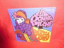 LITTLE TONY La donna di picche 45rpm 7' SOLO COPERTINA NO DISCO 1969 ITALY EX+