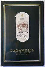 Lagavulin Islay Single Malt Scotch Whisky, escudo de chapa