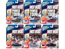 MUSCLE CARS USA 2017 RELEASE 4B SET OF 6 CARS 1/64 BY JOHNNY LIGHTNING JLMC007-B