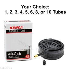 Kenda 700 x 18//23C 33mm Smooth Presta Valve Road Bike Tube RVC One or Multi-Pack