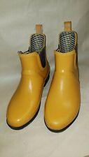 L.L. Bean Women's Wellie Rain Boots Yellow Size 9 Never Worn