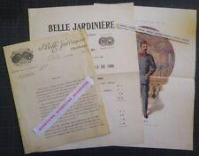 Rare BELLE JARDINIERE. EXPOSITION UNIVERSELLE 1900 Paris UNIFORMES GARDIENS Mode