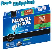 Maxwell House House Blend Decaf Medium Roast Coffee Keurig k-cups