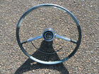 1964 Impala Steering Wheel And Horn Ring Button Original