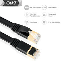 CAT7 Ethernet Cable RJ45 cat 7 cable  Network Cable Patch Cord 25ft 50ft Lot