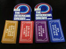 New ListingGame Parts Pieces American Dream Milton Bradley Money & 2 Salary Recorders