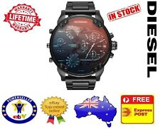 DIESEL DZ7395 MR DADDY 2.0 Black Multiple Time Zone Chrono Mens Watch