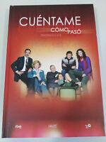 CUENTAME COMO PASO TEMPORADAS 3+4+5 COMPLETAS 12 DVD EDICION LUJO LIBRO UNICA