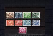 Dt. Reich 1933, Nr. 499-507 A, postfrischer Wagnersatz mit Fotoattest