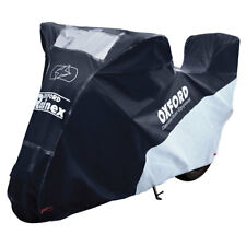 Oxford Rainex Outdoor Motorcycle Motorbike Protection Cover With Topbox   Small