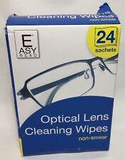 Lente Óptico De 24 bolsitas de Toallitas de Limpieza Cámaras Lentes fácil frotis no