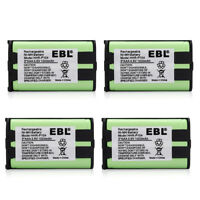 4x 1000mah Cordless Home Phone Battery For Panasonic HHR-P104 HHRP104 Type 29