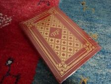 The Sound and the Fury-William Faulkner-Leather & Gilt-Easton Press-New/Sealed