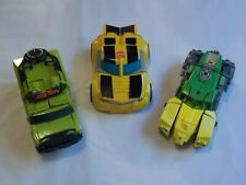 TRANSFORMERS Lot of 3 Vehicles from different series. Bumblebe, more See photos