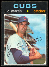 1971 TOPPS OPC O PEE CHEE BASEBALL #704 J. C. MARTIN NM CHICAGO CUBS card