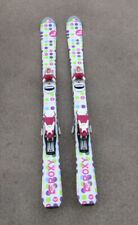 Roxy T 110 cm Youth Jr. Junior Skis w/ Roxy Bindings