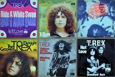 6x T.REX Hot Love/Groover/Children Of The Revolution/20th Century Boy MARC BOLAN