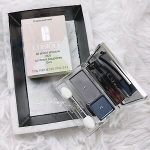 Clinique All About Shadow DUO 22 JEANS AND HEELS (Great smokey eyeshadow) NEW