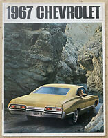 1967 Chevrolet Range original American sales brochure