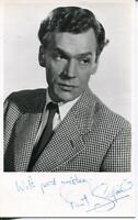Paul Scofield Signed Photo Autograph Actor In King Lear & A Man For All Seasons